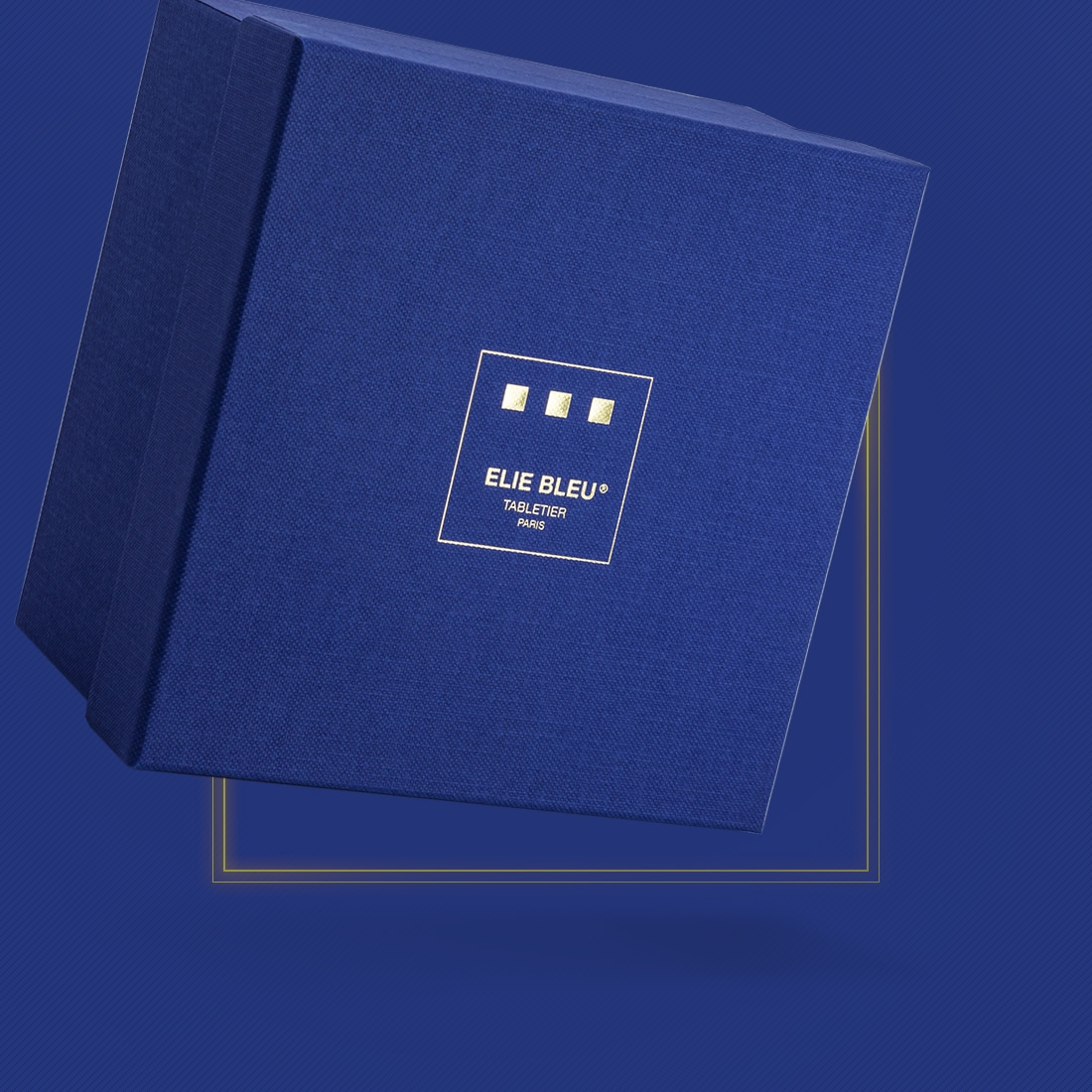 Photo #4 de Briquet de table Elie Bleu Maison Cubaine