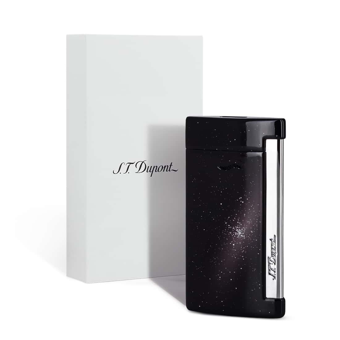 Photo #1 de Briquet S.T. Dupont Slim 7 Space Black