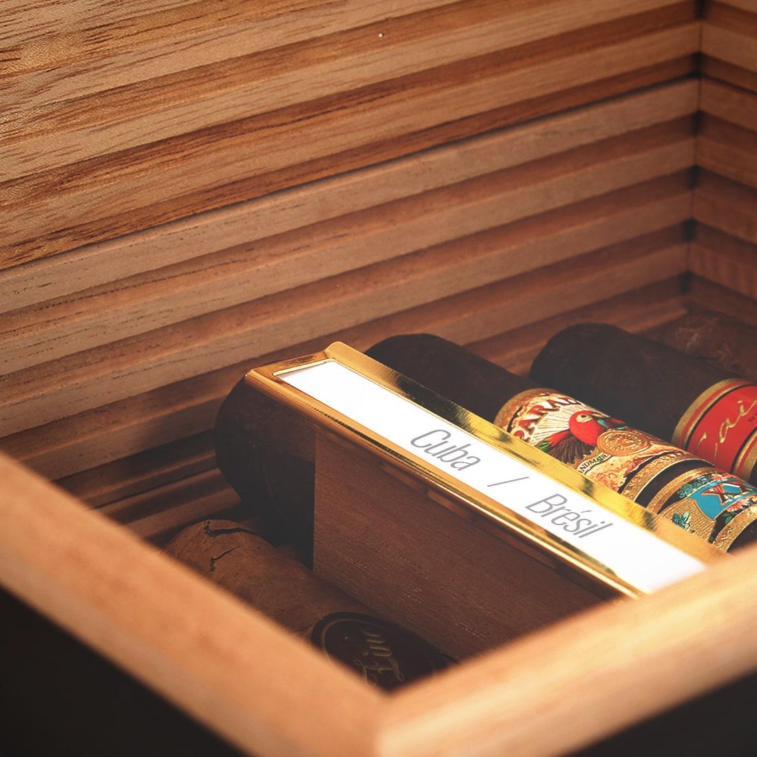 Photo #6 de Cave à cigares - Adorini Verona New Deluxe
