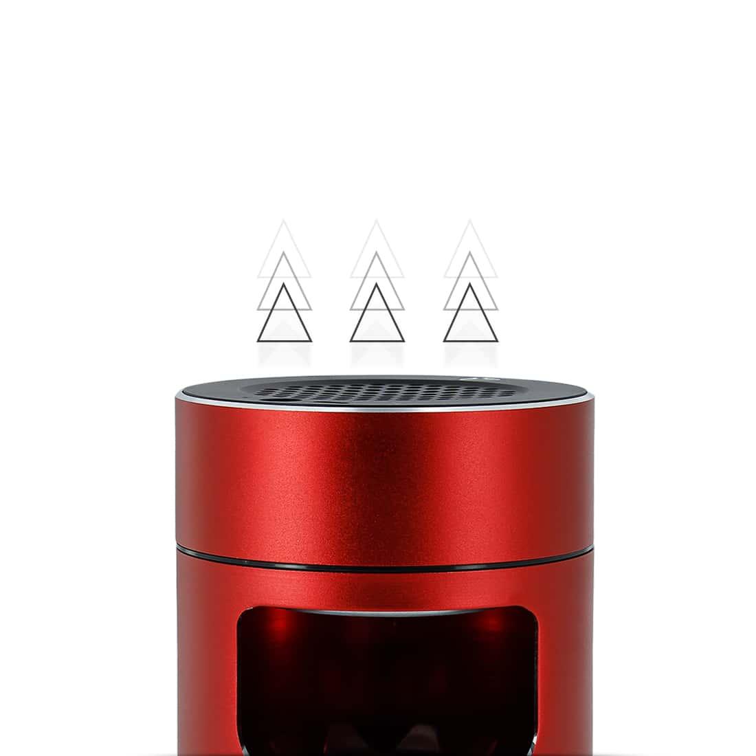 Photo #1 de Cendrier Electronique Aspirant Rouge