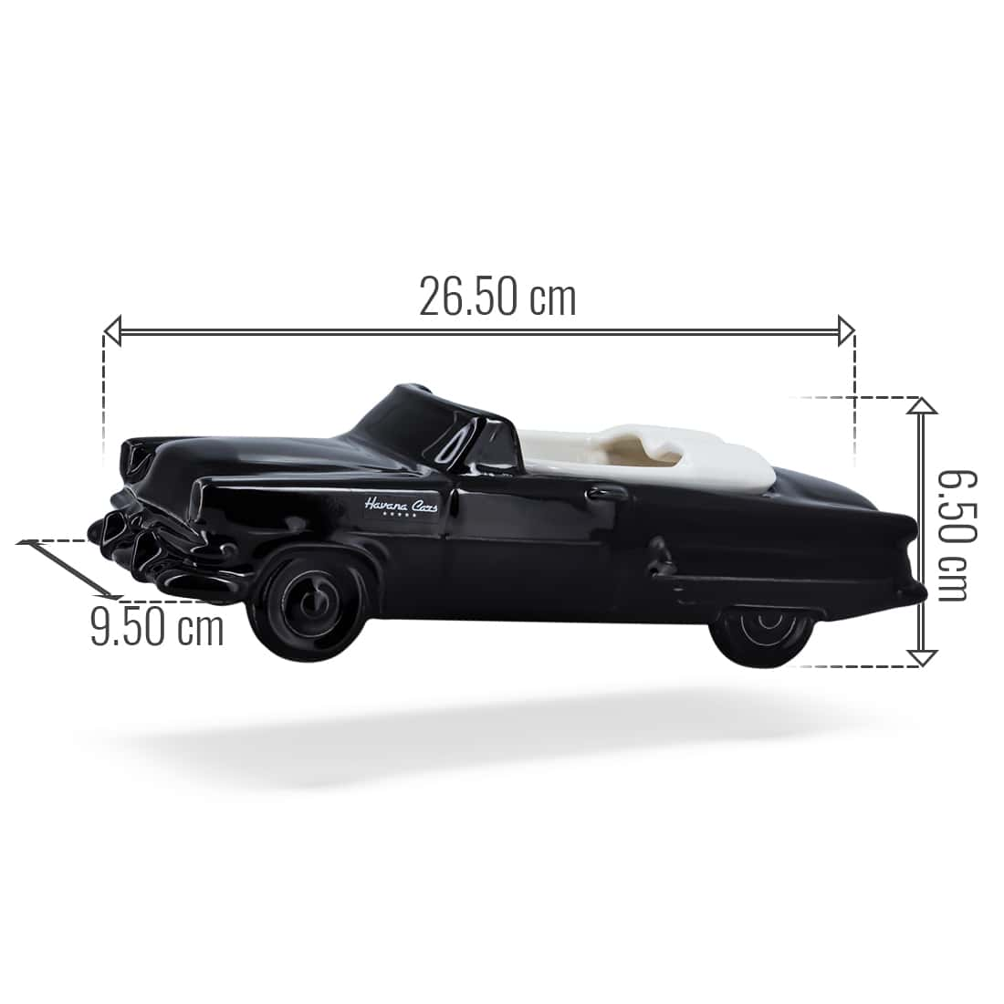 Photo #2 de Cendrier Havana Club Car Noir