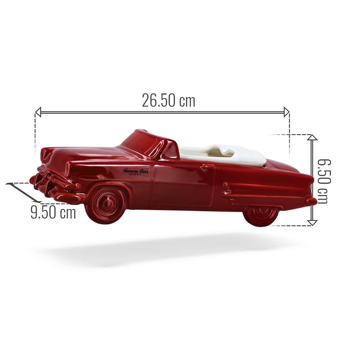 Photo #2 de Cendrier Havana Club Car Rouge