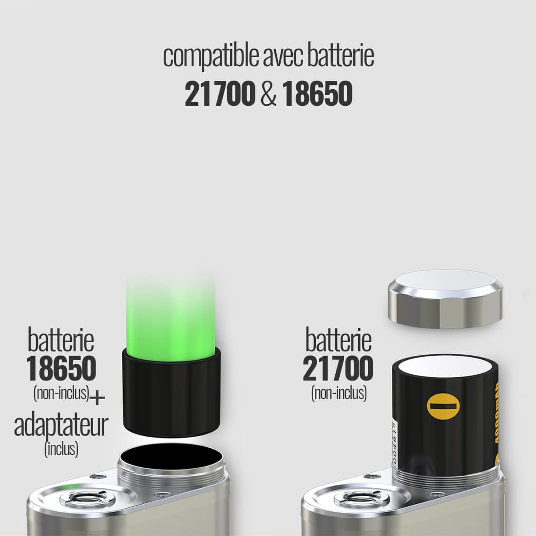 Photo #2 de Cigarette electronique Eleaf iStick Pico 21700 Verte
