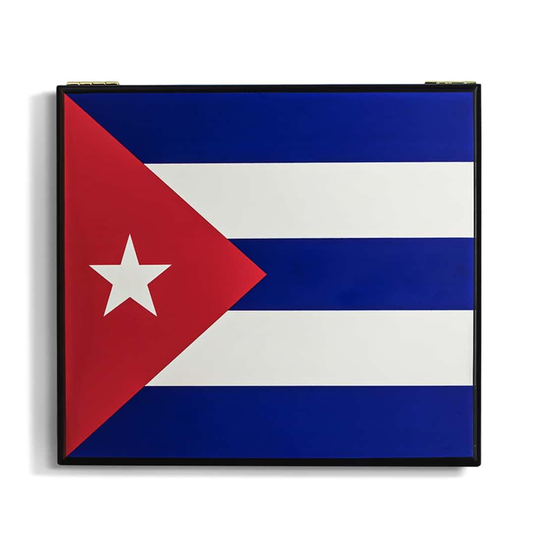 Photo #4 de Coffret à Cigares Drapeau Cubain