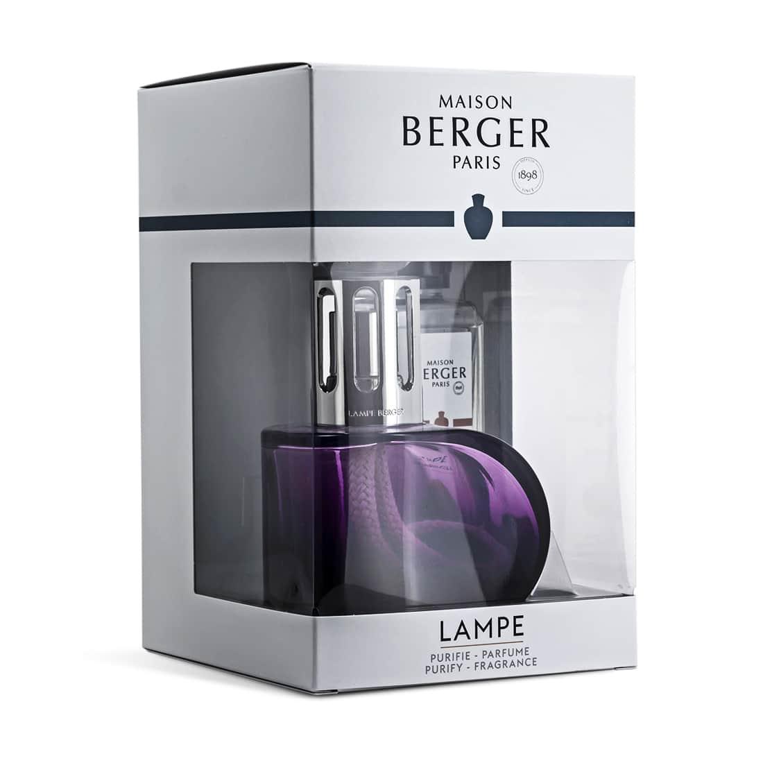 Photo #1 de Coffret Lampe Berger Alliance Violette
