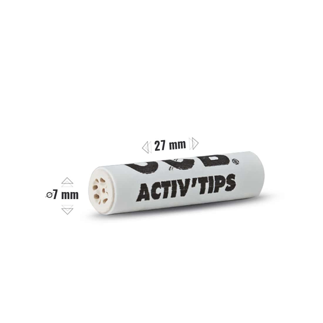 Photo #1 de Filtres Activ' Tips Slim OCB x 20