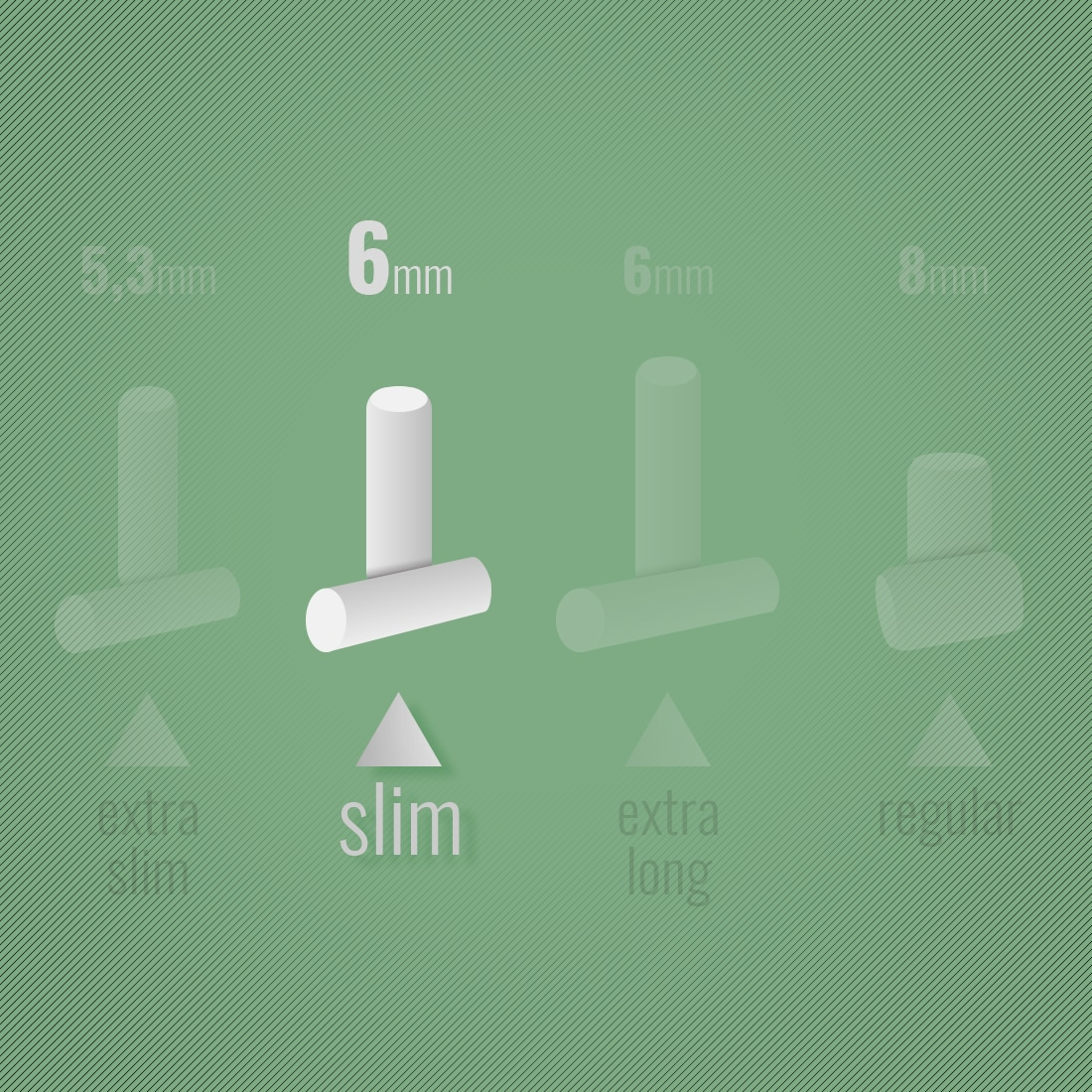 Photo #1 de Filtres OCB en Papier Slim x 10 sachets