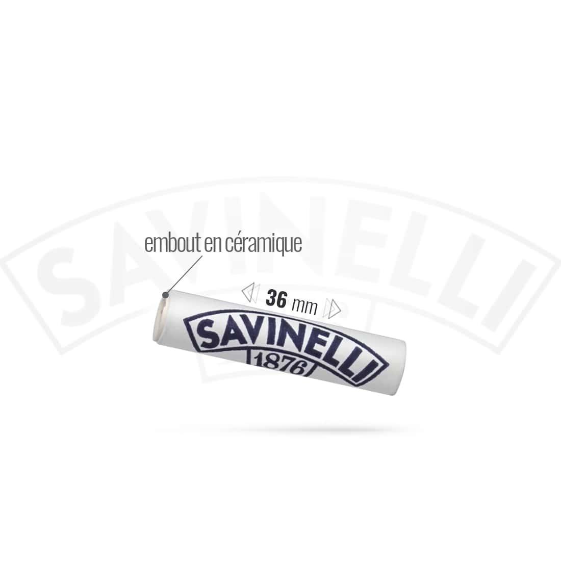 Photo #1 de Filtres Pipe Charbon 9 mm Savinelli x35