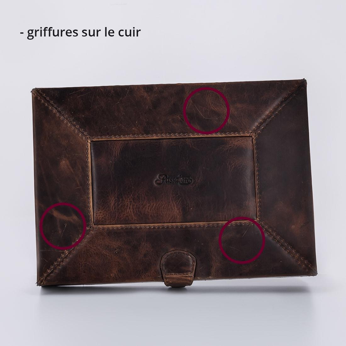 Photo #1 de La Bonne Affaire - Coffret à cigares cuir marron