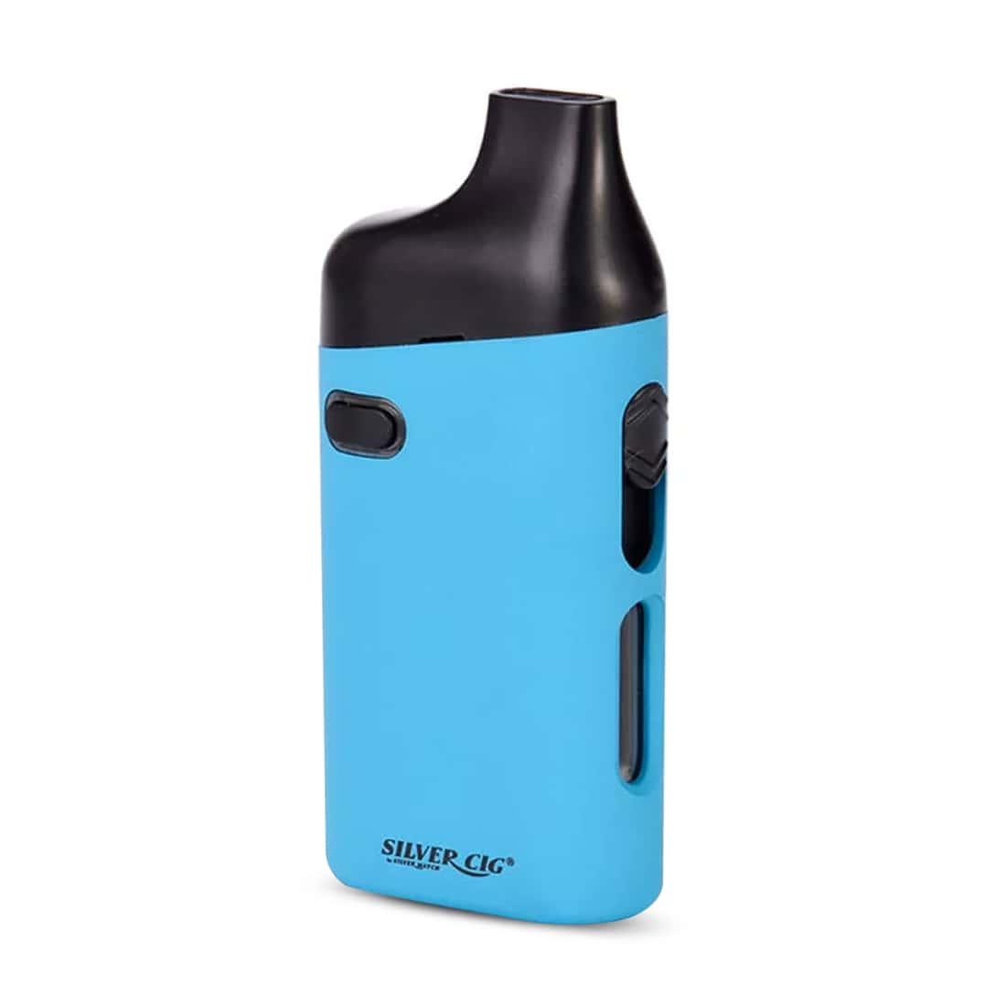 Photo #1 de Pack cigarette-electronique SilverCig E-Palm Bleu et 5 x Résistances