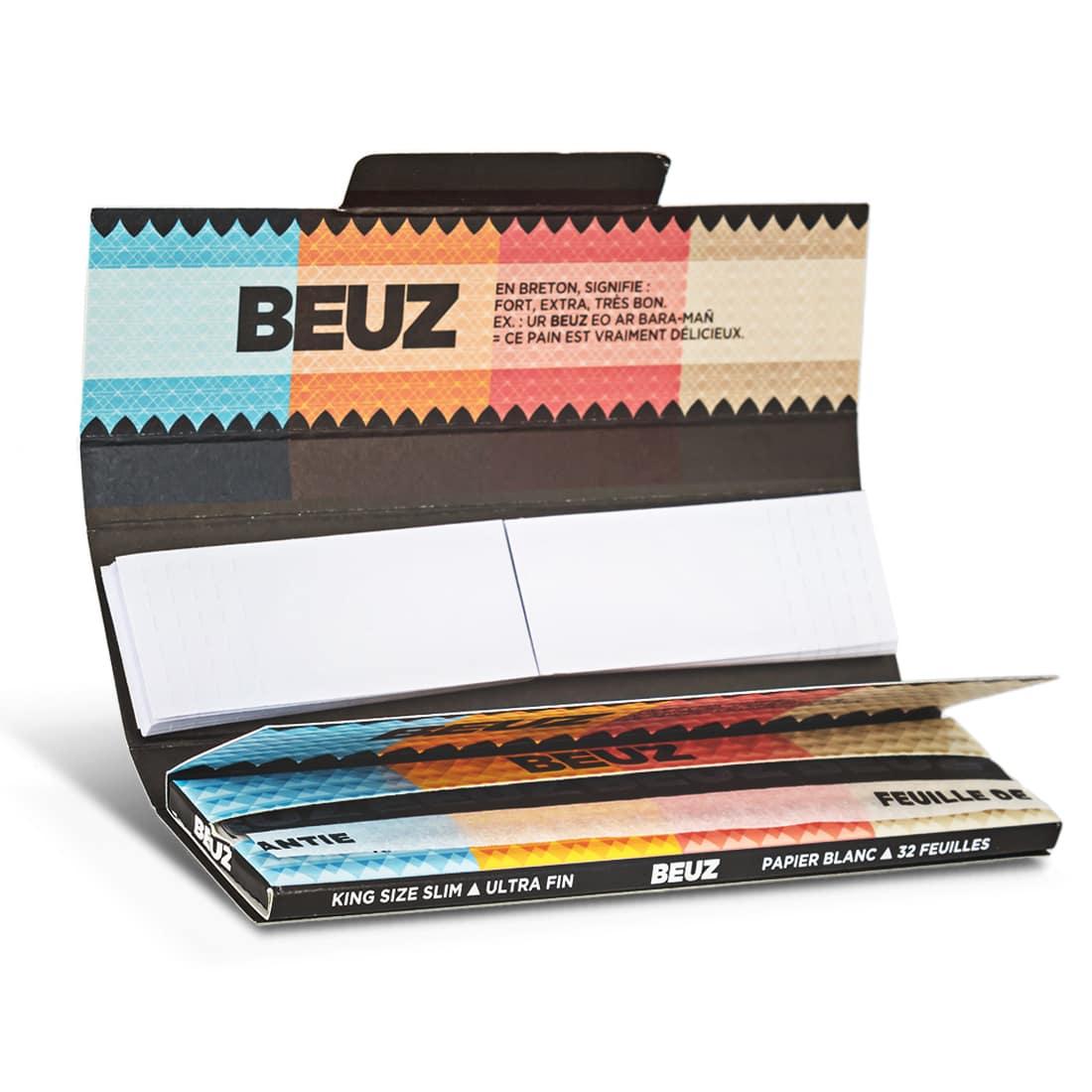 Photo #1 de Papier a rouler Beuz Slim et Tips x 24