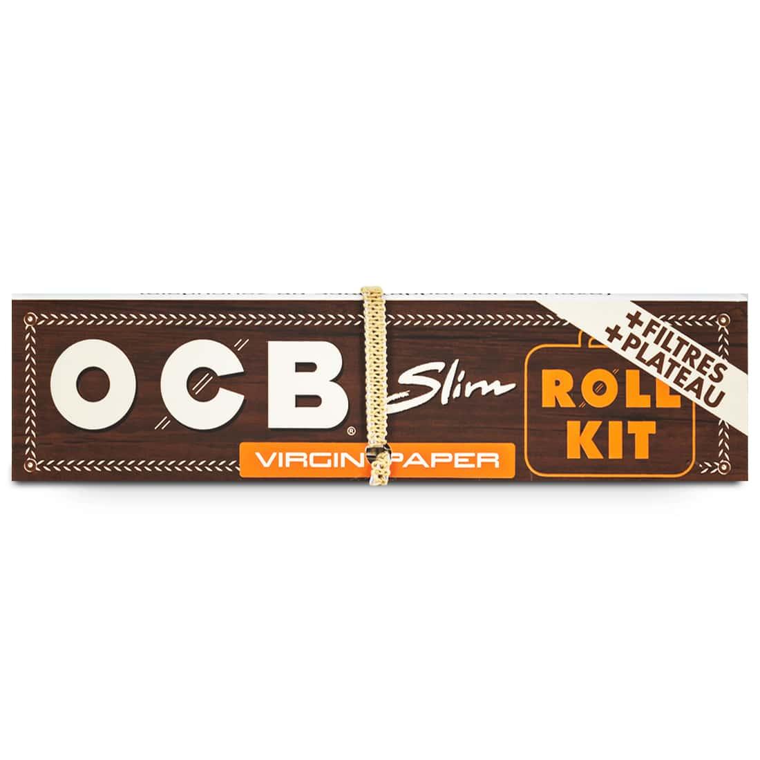 Photo #3 de Papier à rouler OCB Slim Virgin Roll Kit x 20