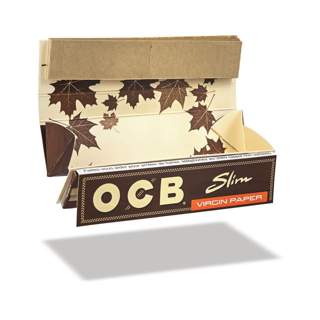 Photo #1 de Papier à rouler OCB Slim Virgin Roll Kit x 20