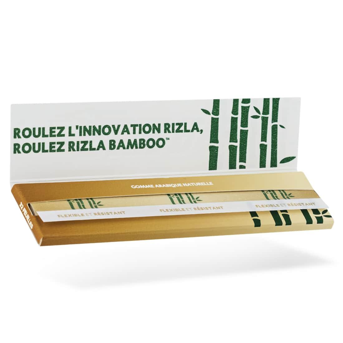 Photo #1 de Papier à rouler Rizla + Bamboo slim x 50