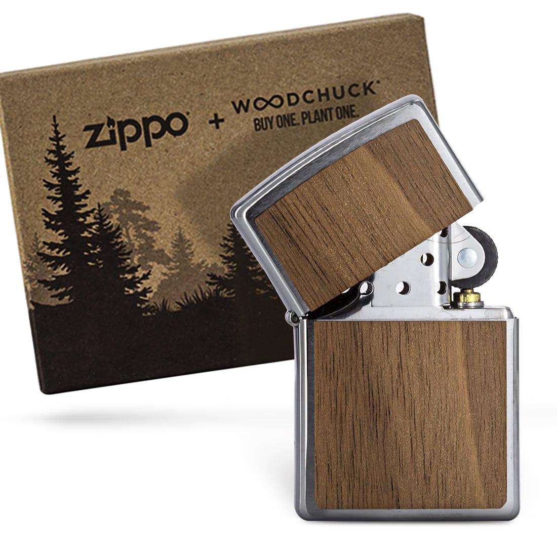 Photo #3 de Zippo Wood Chuck Clair