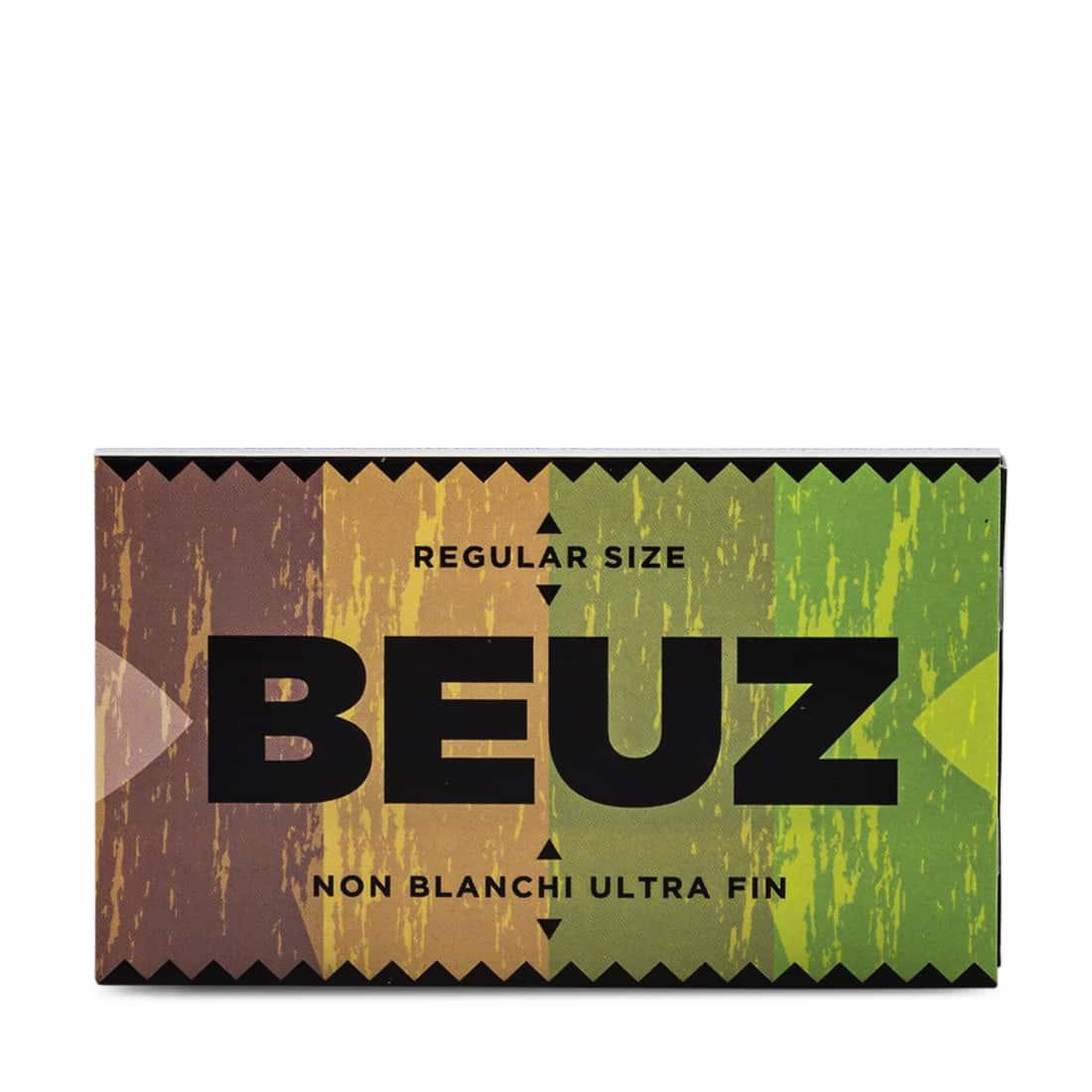 Photo #1 de Papier a rouler Beuz Regular Brown x10