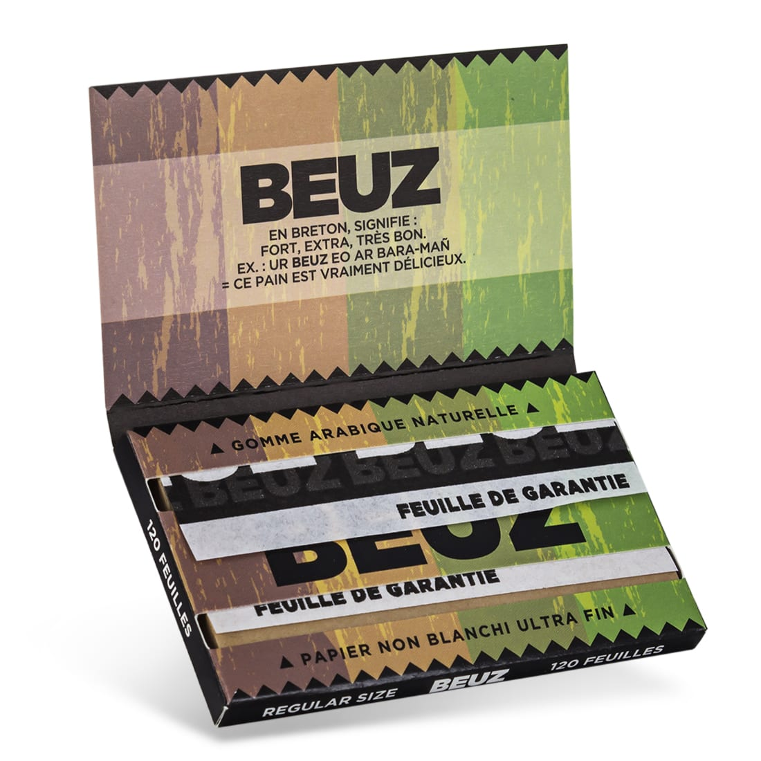 Photo #2 de Papier a rouler Beuz Regular Brown x25