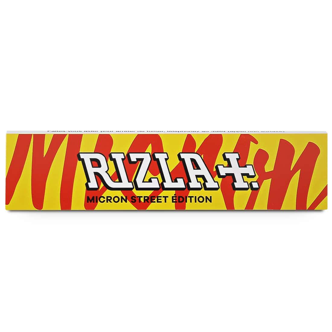 Photo #1 de Papier à rouler Rizla + Micron Slim Street Edition x 10