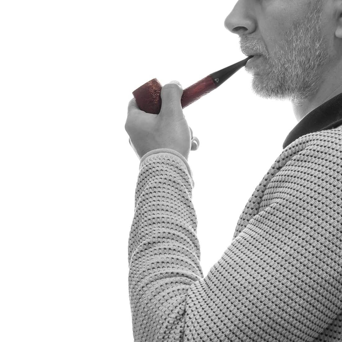 Photo #1 de Pipe de Cogolin Brassens Sablée Droite