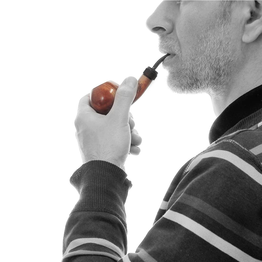 Photo #1 de Pipe Nording Eriksen Mesh Ring Sifflet Noire