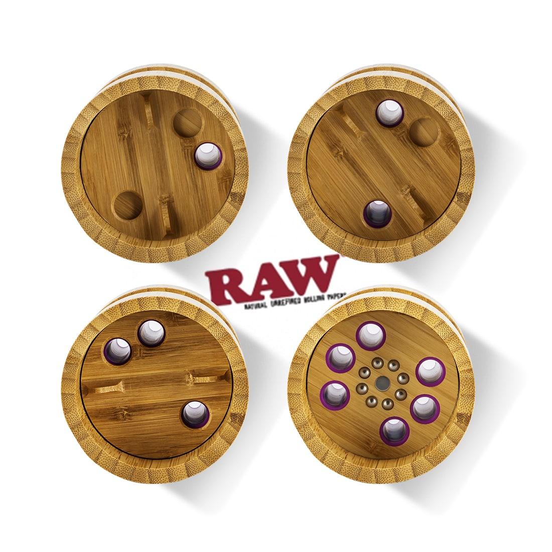 Photo #1 de Shooter Raw 6 Cones 1/4 version Bamboo