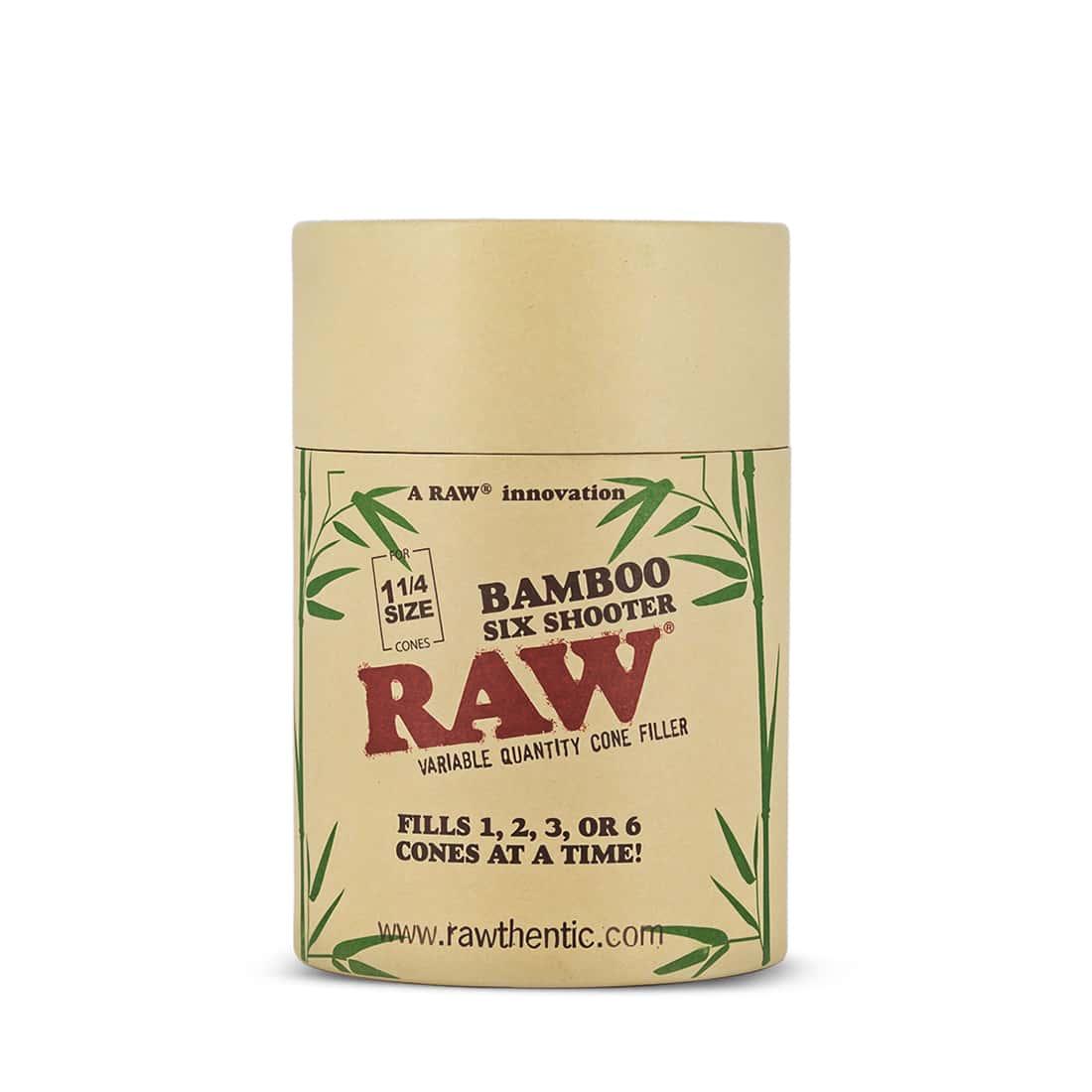 Photo #3 de Shooter Raw 6 Cones 1/4 version Bamboo