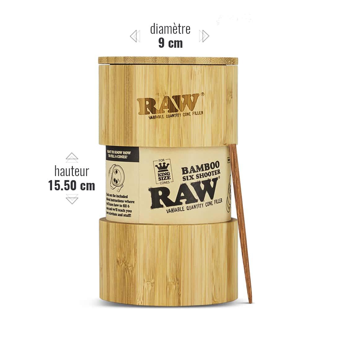 Photo #2 de Shooter Raw 6 Cones KS version Bamboo