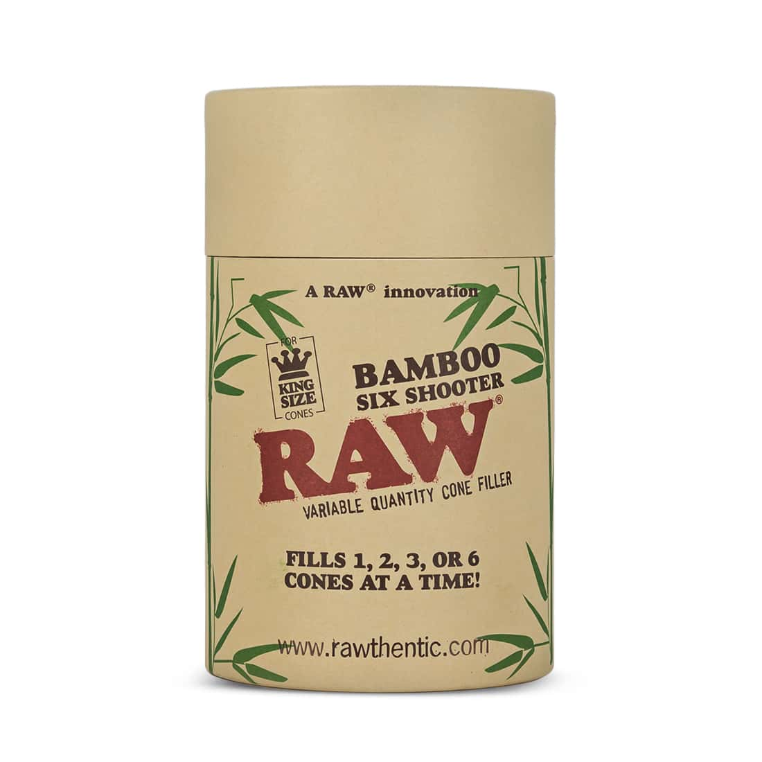 Photo #3 de Shooter Raw 6 Cones KS version Bamboo