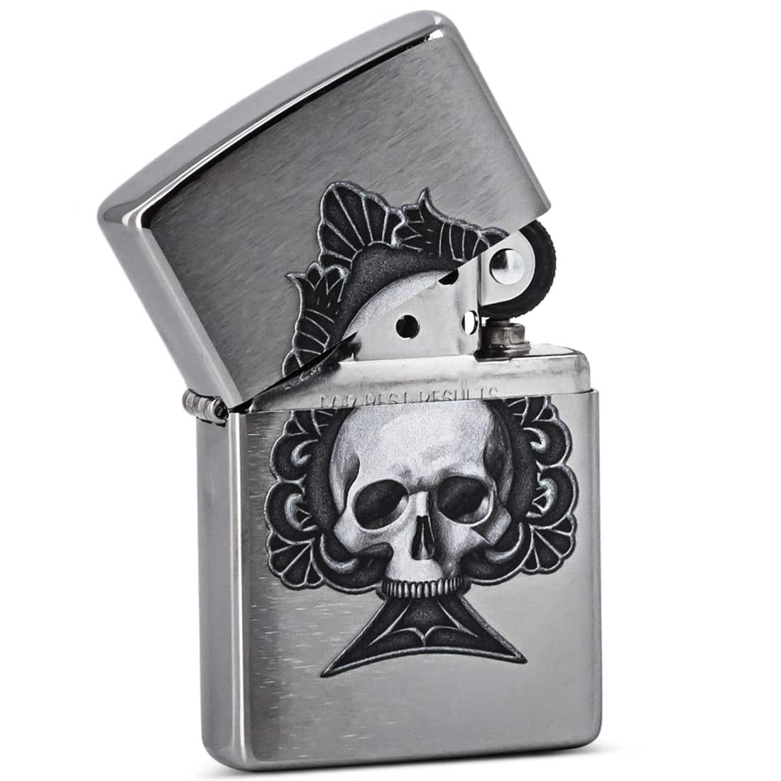Photo #1 de Zippo Ace Skull Design