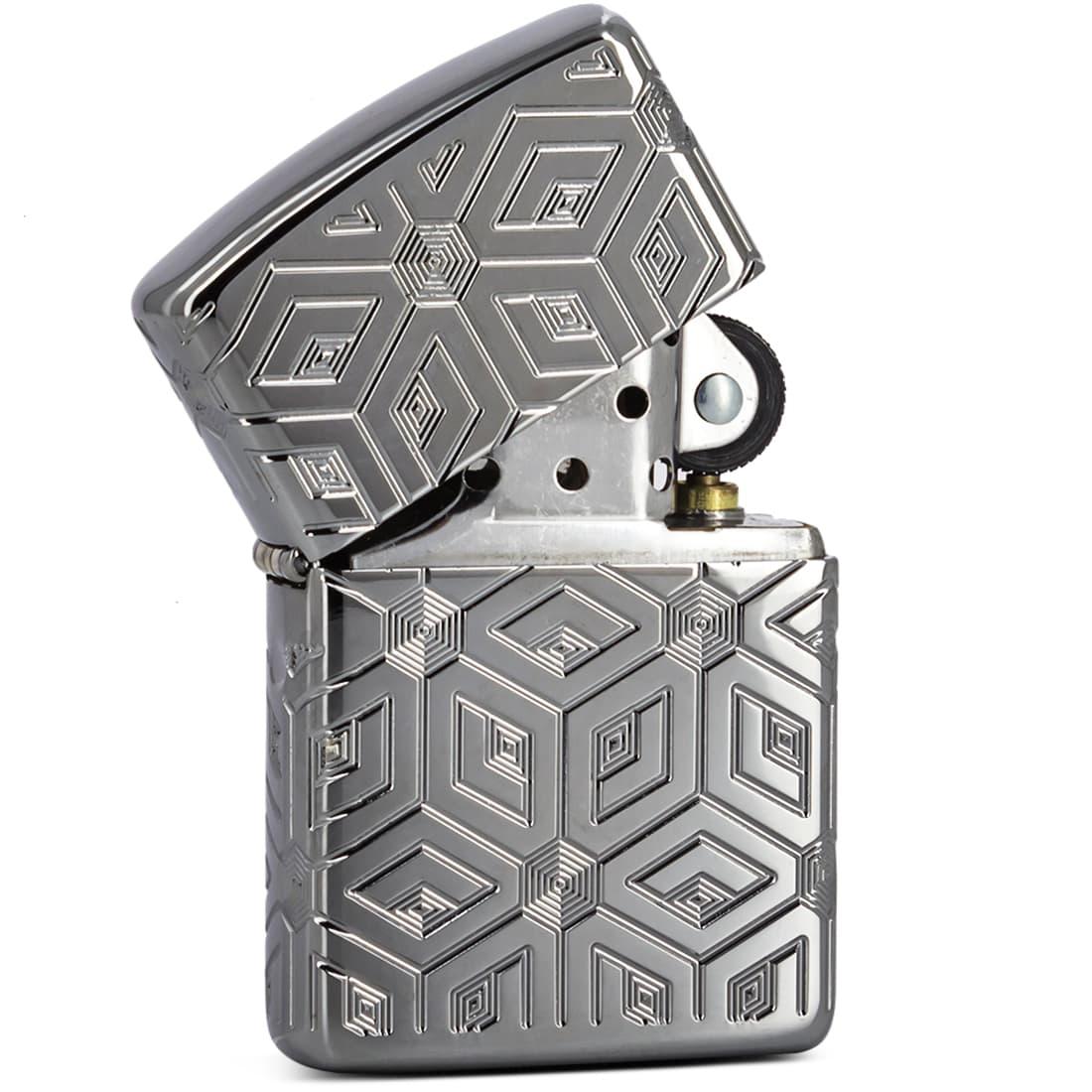 Photo #1 de Zippo Armor Boxes All Over Design