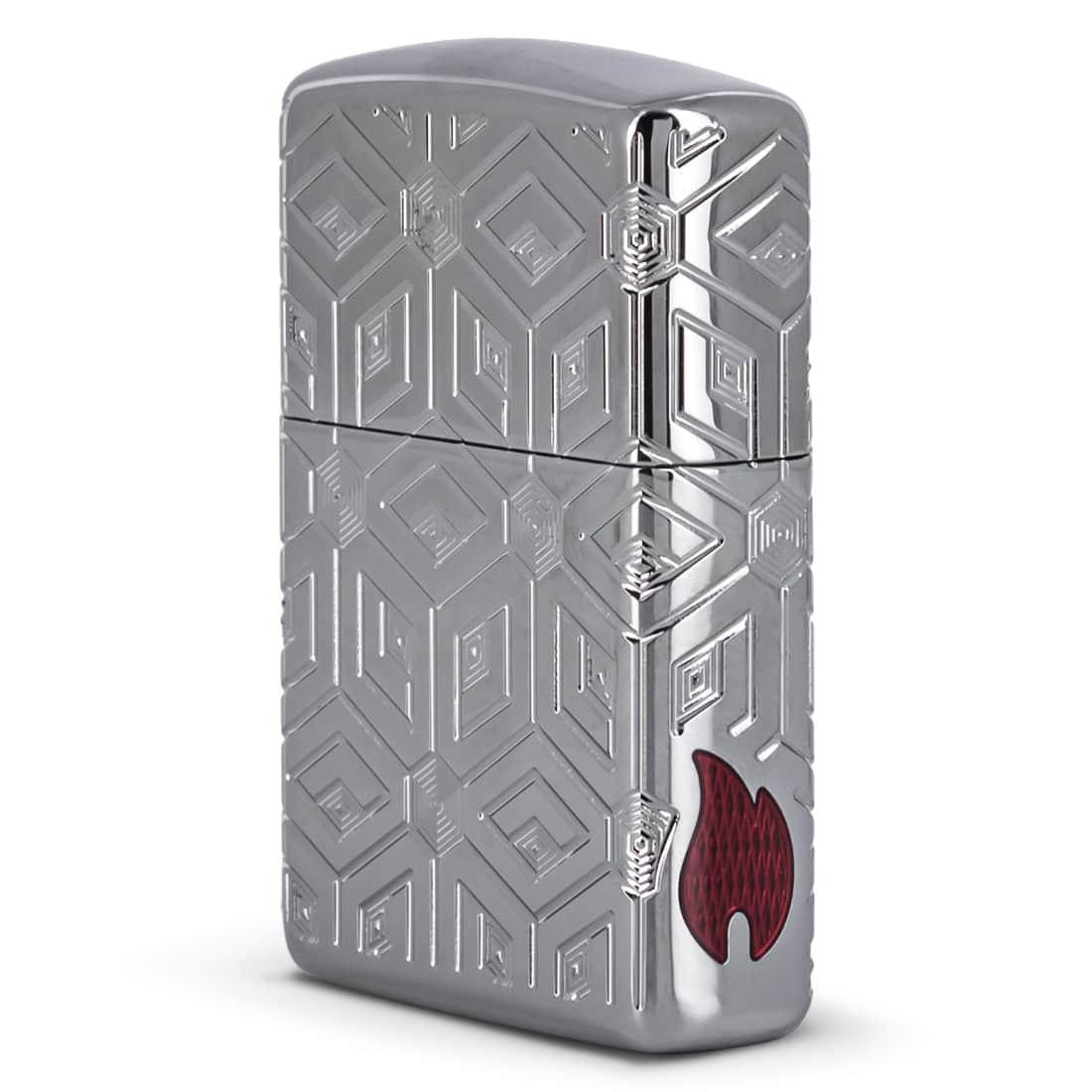 Photo #2 de Zippo Armor Boxes All Over Design
