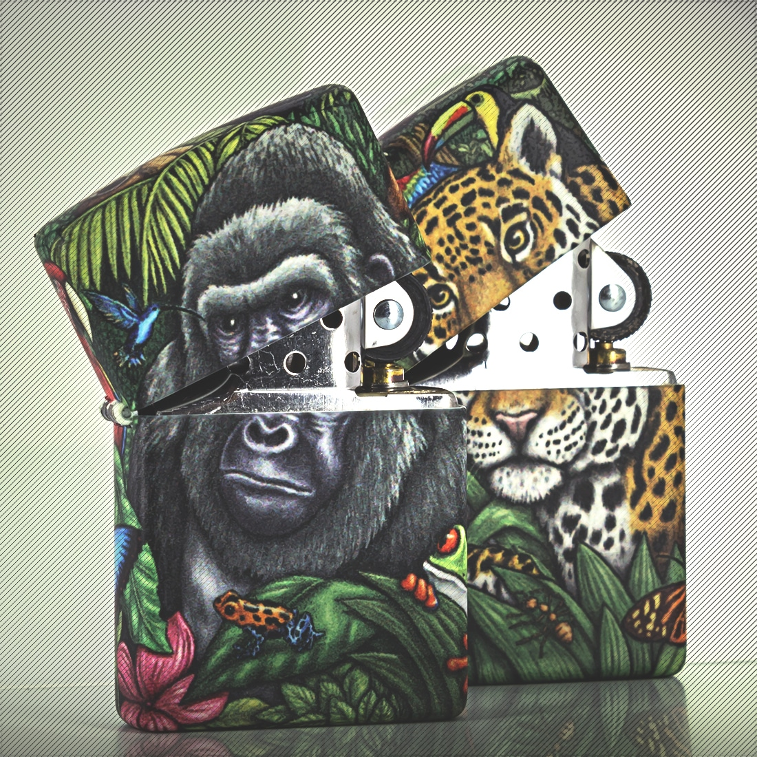 Photo #2 de Zippo Collector Mysteries of the Forest 2 Zippo