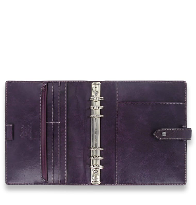 Photo #2 de Agenda Filofax A5 Malden Violet
