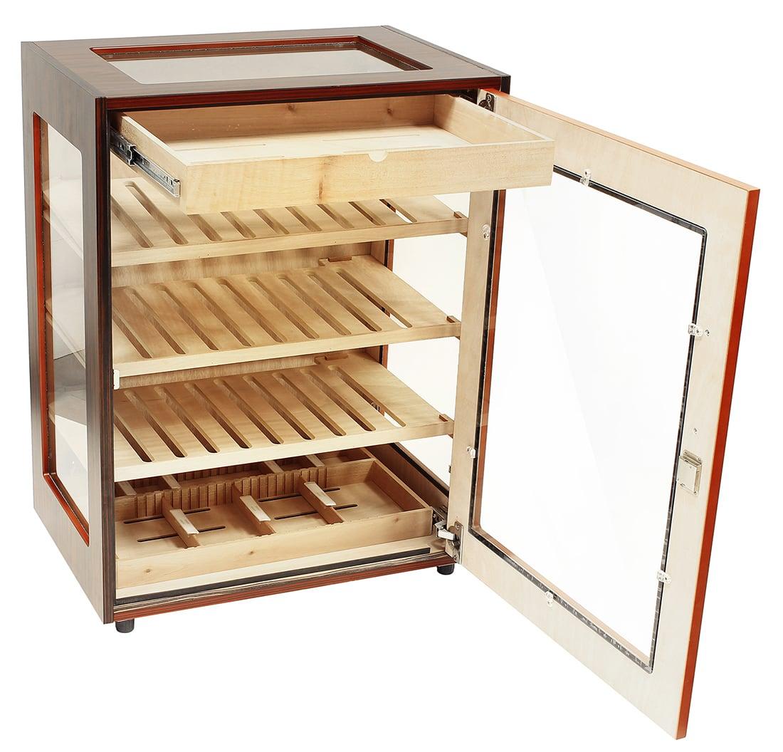 Photo #1 de Armoire à Cigares Adorini Salina Ebony