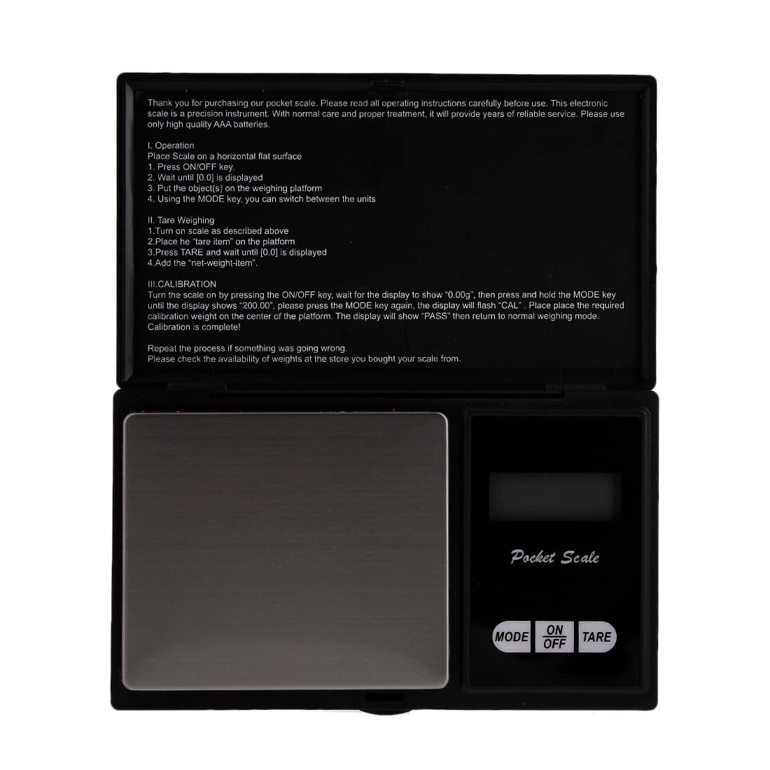 Photo #1 de Balance Numérique de précision Pocket 500/0.1 g