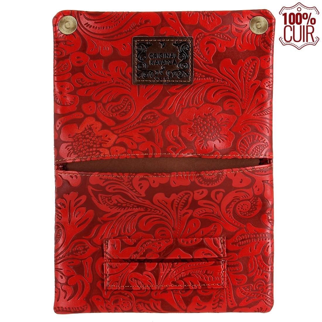 Photo #1 de Blague à tabac Kavatza Red Flowers