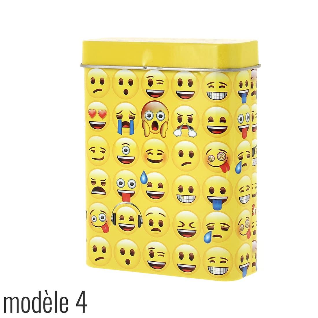 Photo #5 de Boite a cigarette Emoji