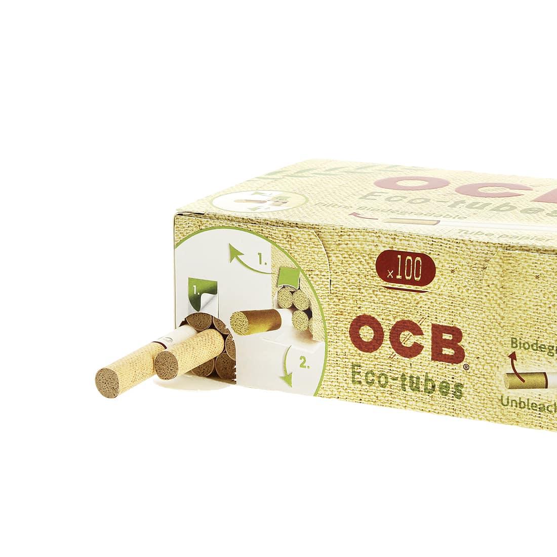 Photo #2 de Boite de 100 tubes OCB Chanvre Bio avec filtre x5