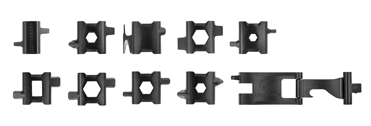 Photo #5 de Bracelet Leatherman Tread Noir 29 outils