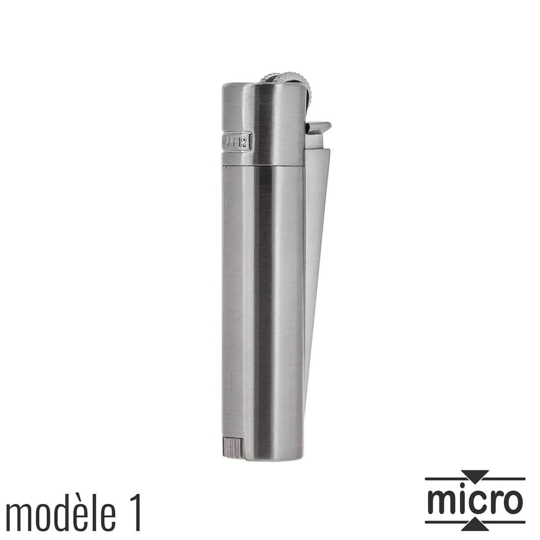 Photo #2 de Briquet Clipper Mini Métal