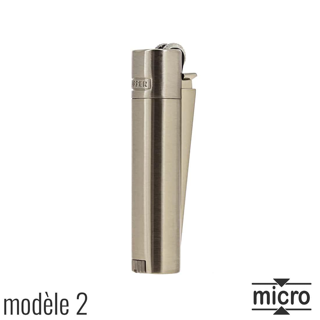 Photo #3 de Briquet Clipper Mini Métal