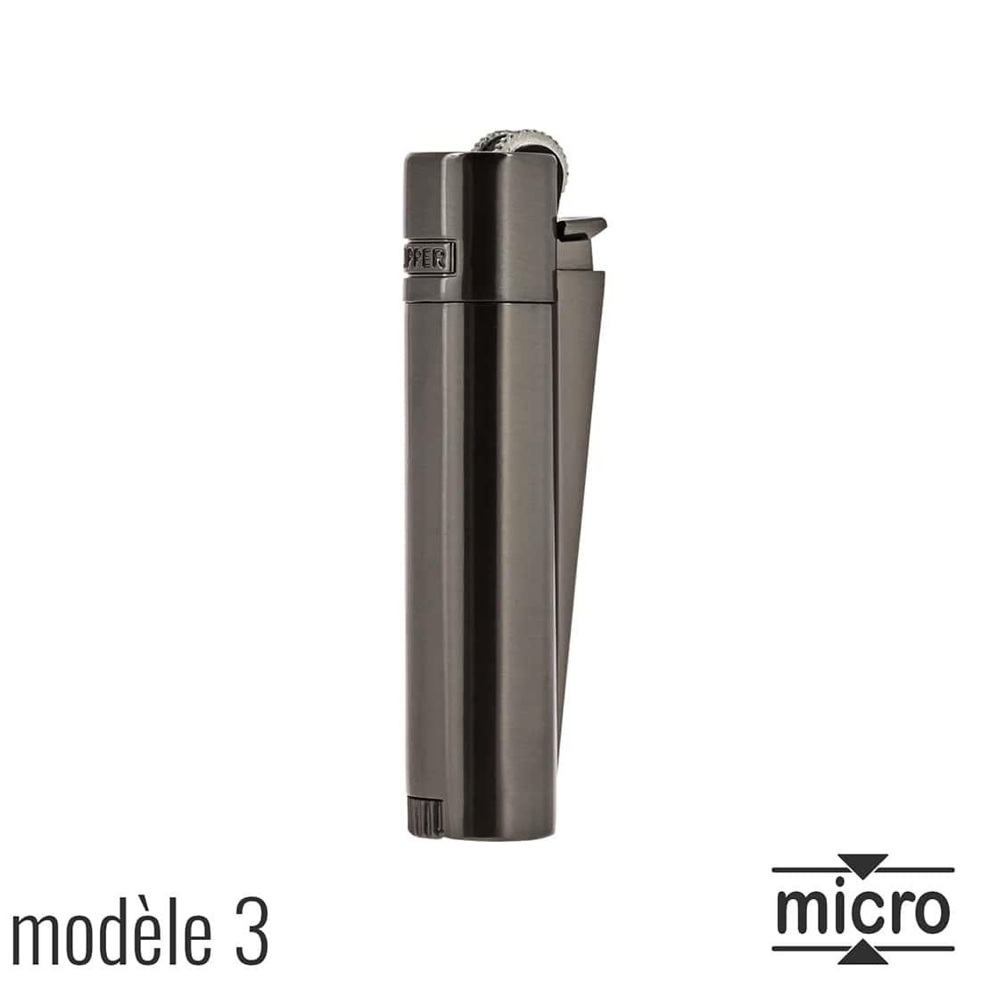 Photo #4 de Briquet Clipper Mini Métal