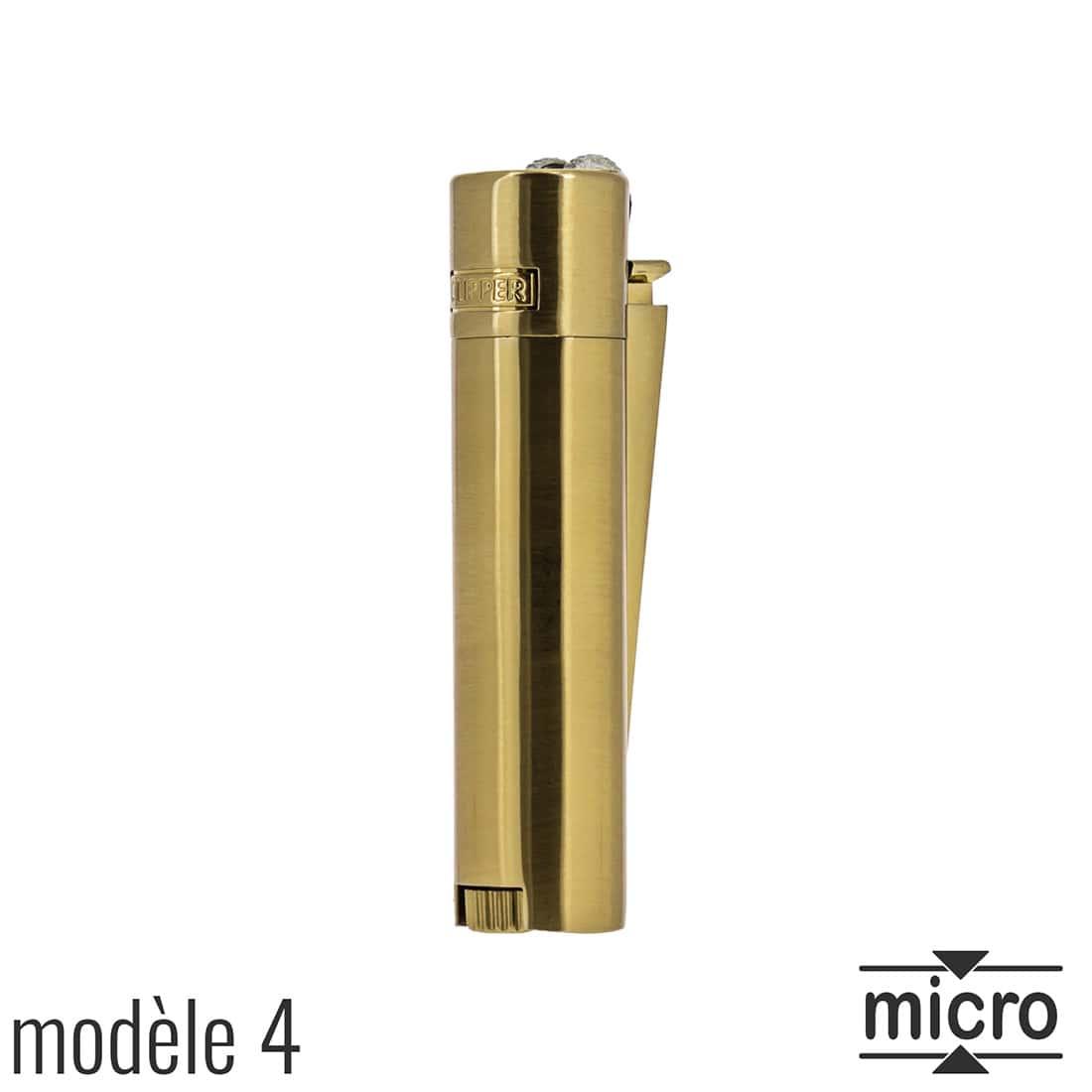 Photo #5 de Briquet Clipper Mini Métal