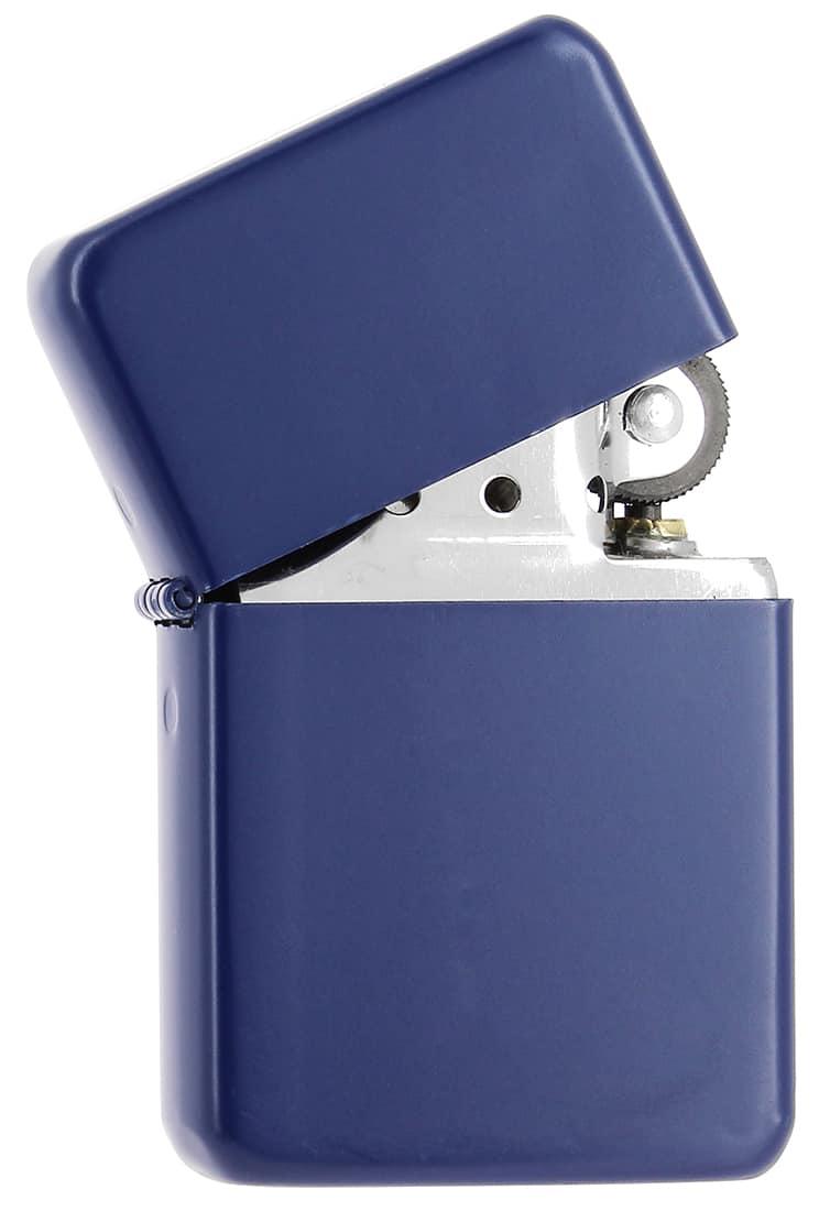 Photo #1 de Briquet essence Bleu