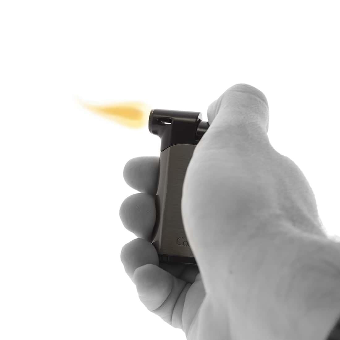 Photo #4 de Briquet Pipe Colibri Pacific Gun et Noir