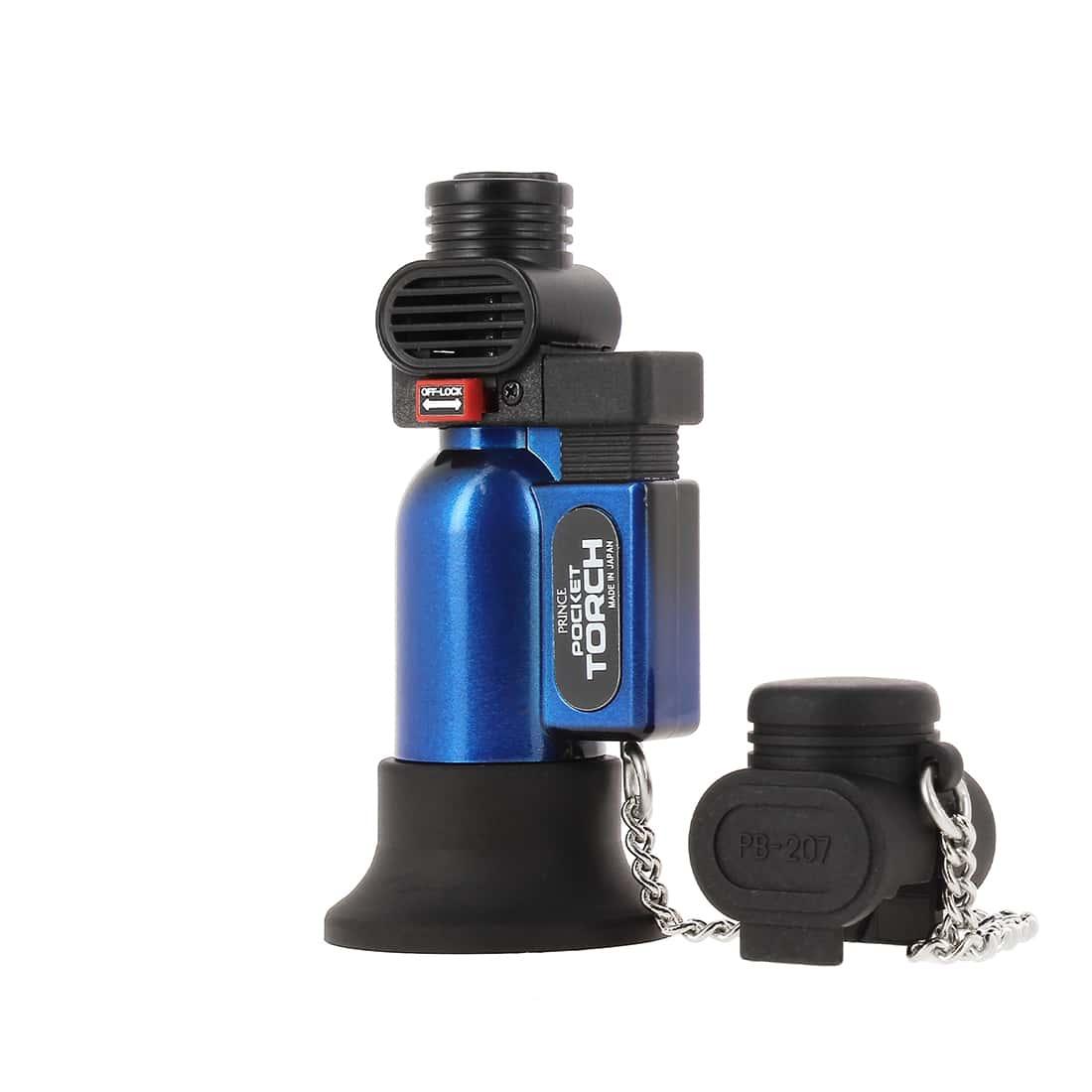 Photo #2 de Briquet PRINCE pocket torche bleu