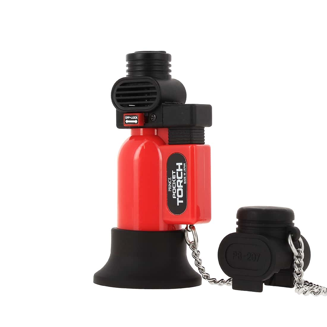 Photo #2 de Briquet PRINCE pocket torche rouge