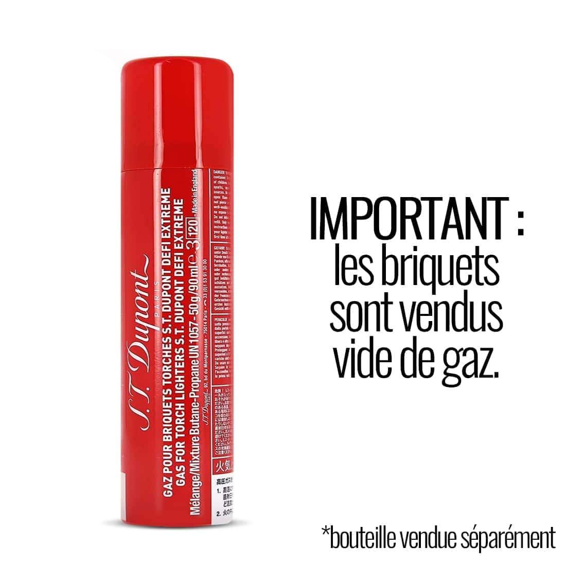 Photo #3 de Briquet S.T. Dupont Défi Extrême Double Black