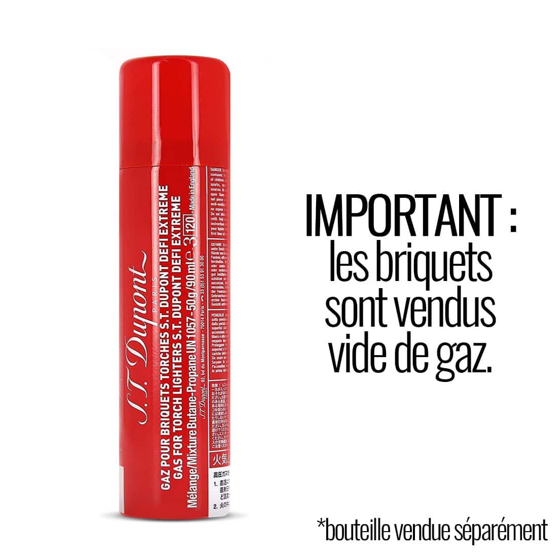 Photo #3 de Briquet S.T. Dupont Défi XXtrême Chromé Brossé