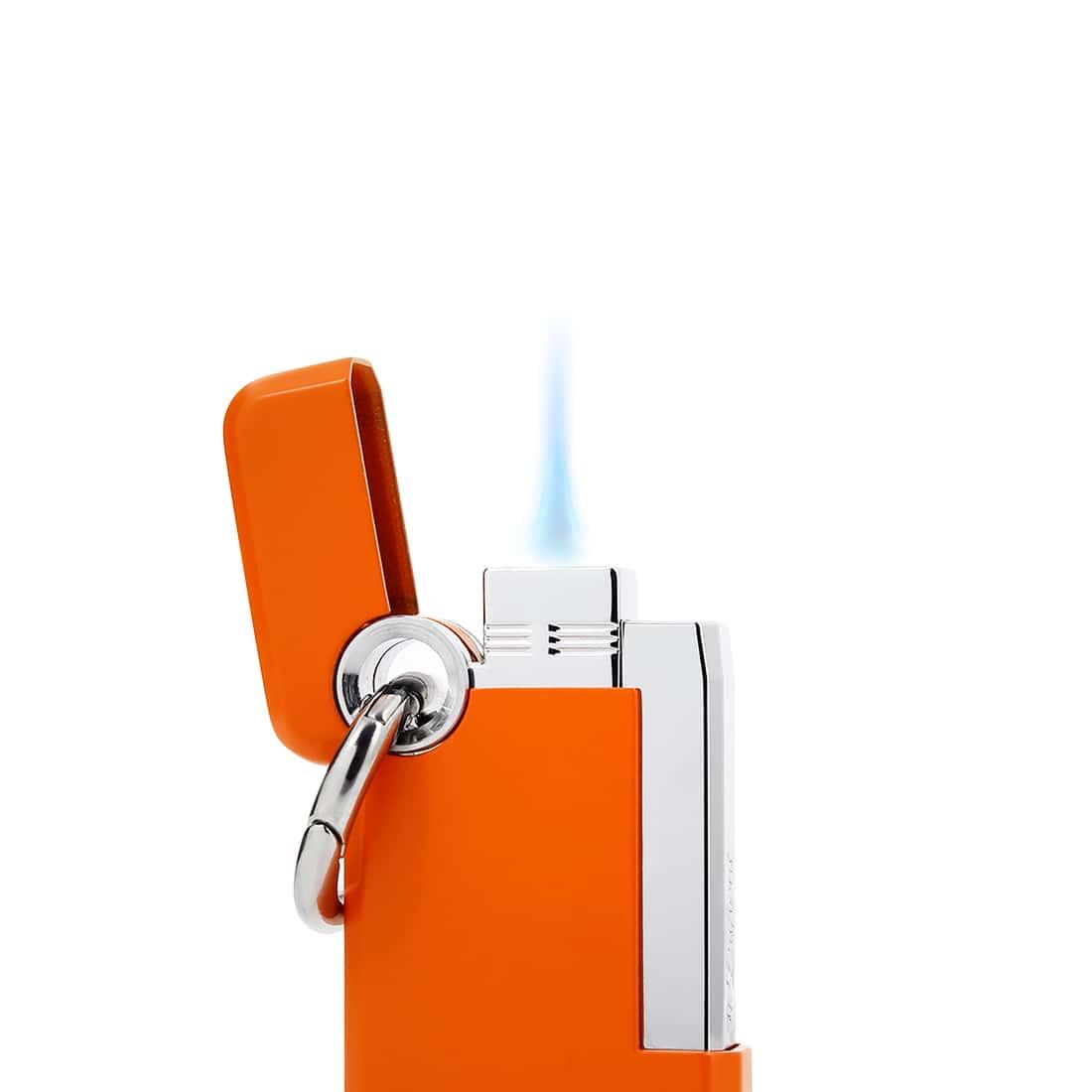 Photo #1 de Briquet S.T. Dupont Hooked Orange Mat